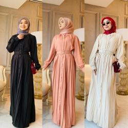 ALLISON DRESS ( PROMO PKP - BUY 2 RM110 @ BUY 4 RM200)