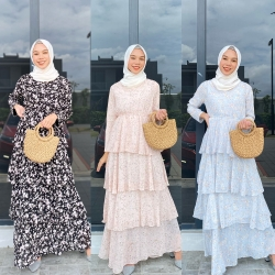 SHERLYN LAYER DRESS (PROMO PKP - BUY 2 FOR RM150 - CAN MIX OTHER DRESS)